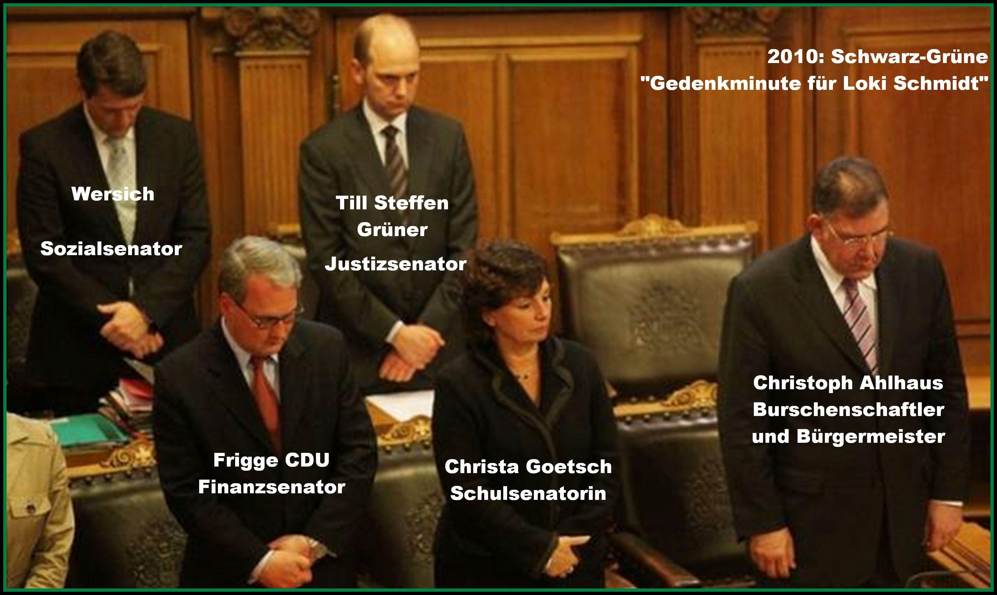 All-Parteien-Koalition in Hamburg